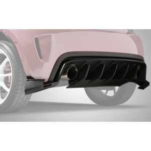 500|SPEEDLAB Fiat 500 Diffuser Abarth Rear Fade