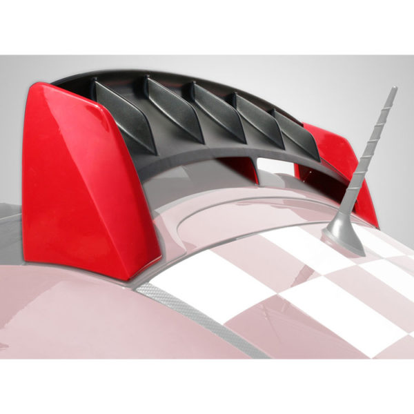 500|SPEEDLAB Fiat 500 Spoiler Abarth Rear Wing Fade