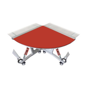 500|SPEEDLAB Pitstop Furniture GT Desk Connector Red GPW210R