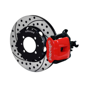 500|SPEEDLAB FIAT 500 Rear Wilwood Combination Brake Kit-Drilled and Slotted