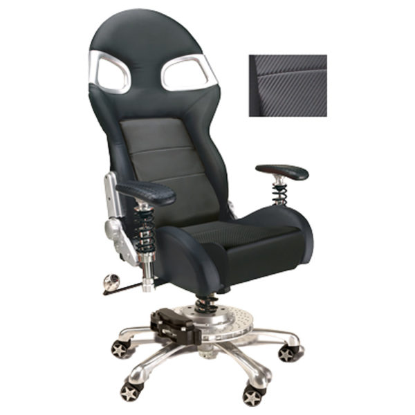 500|SPEEDLAB PitStop LXE Office Chair Carbon Fiber FO8000CF