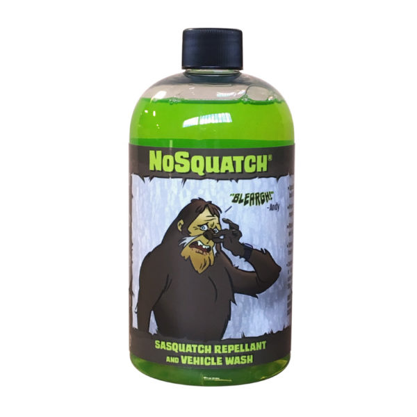 CRAPNGUNK Brand NOSQUATCH Vehicle Wash