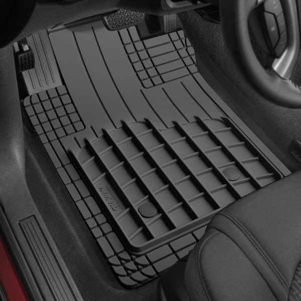 500|SPEEDLAB Weathertech Floorliners for FIAT 500X Front